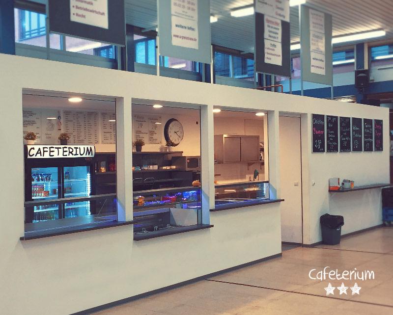 """Bremer Schulcafeteria """"Cafeterium"""" im Schulzentrum Grenzstrasse"""