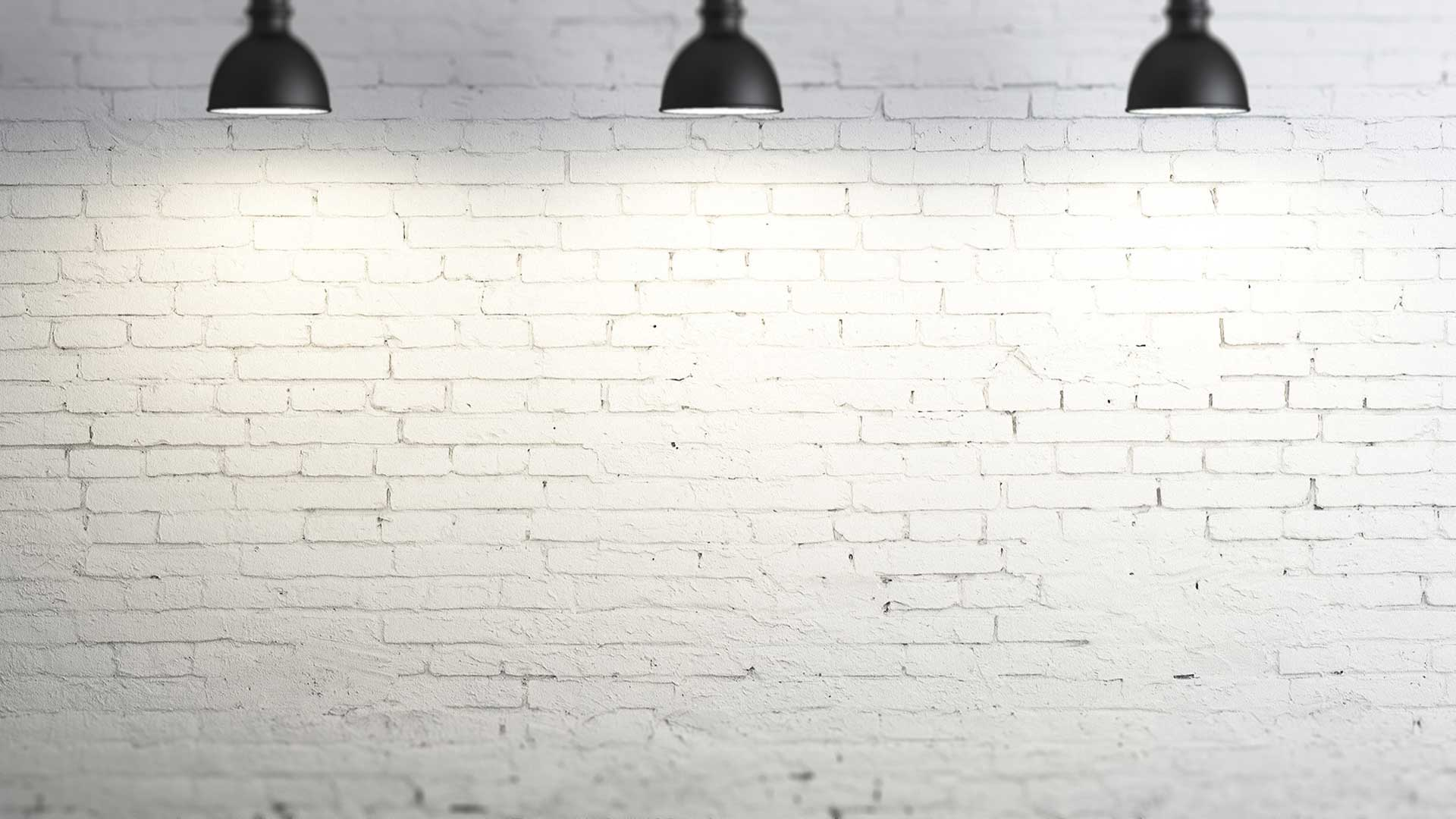 Wall bricks in light blur background